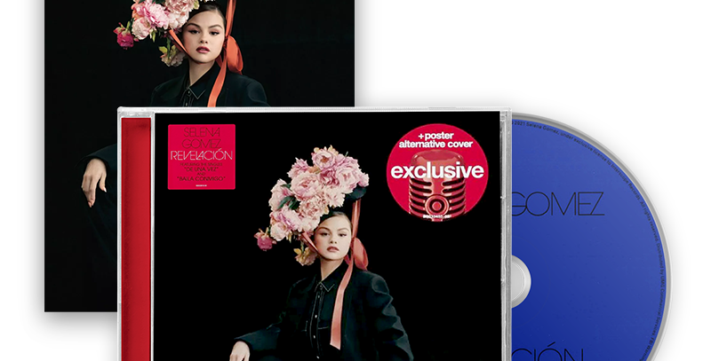 Selena Gomez - CD Revelación (Target Exclusive)
