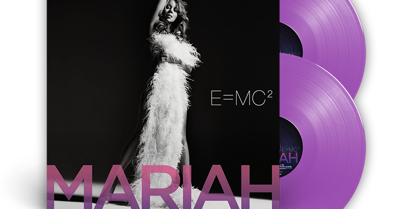 Mariah Carey - 2x LP E = MC2 Lavanda Limitado