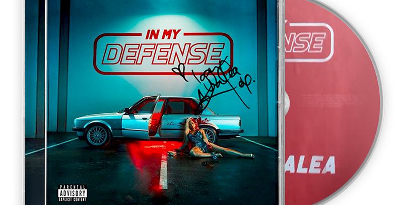 Iggy Azalea - CD In My Defense - Autografado Limitado
