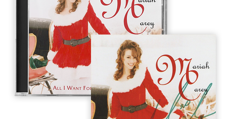 Mariah Carey - CD Autografado All I Want For Christmas