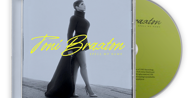 Toni Braxton - CD Autografado - Spell My Name