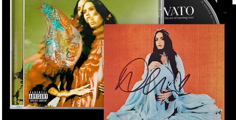 Demi Lovato - CD Autografado Dancing With The Devil...The Art Of Starting Over