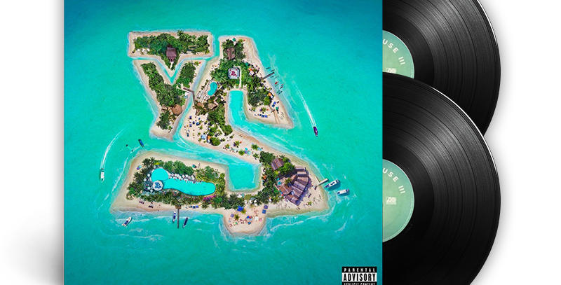 TY Dolla $ign - Beach House 3 2x LP Autografado