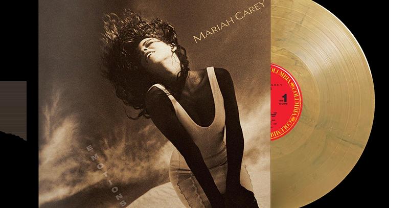 Mariah Carey - LP Emotions Bronze Limitado