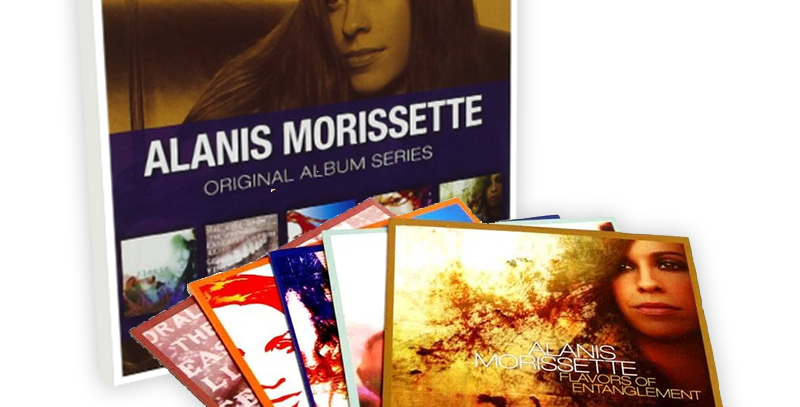 Alanis Morissette - Box 5 CDs