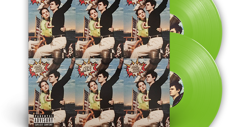 Lana Del Rey - 2x LP Norman Fucking Rockwell Limitado Verde