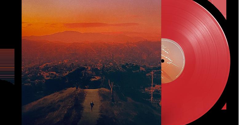 Finneas - LP Blood Harmony Vermelho Limitado