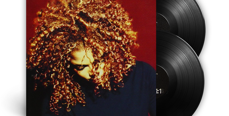 Janet Jackson - 2x LP The Velvet Rope