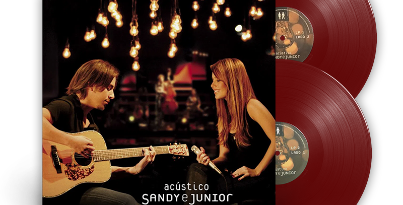 Sandy e Junior - 2x LP Acústico Limitado Marrom
