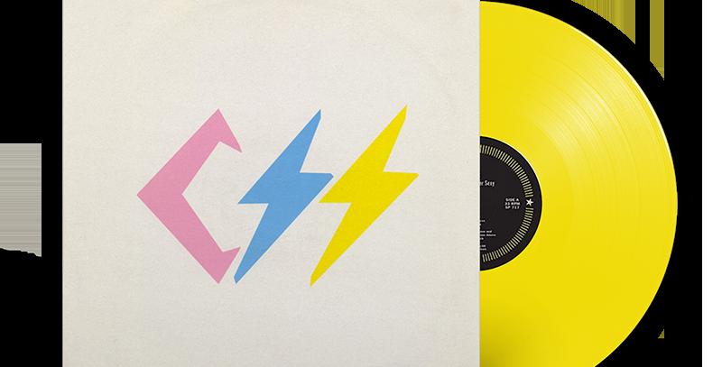 CSS - LP Cansei De Ser Sexy Limitado Numerado Amarelo [250 unidades]