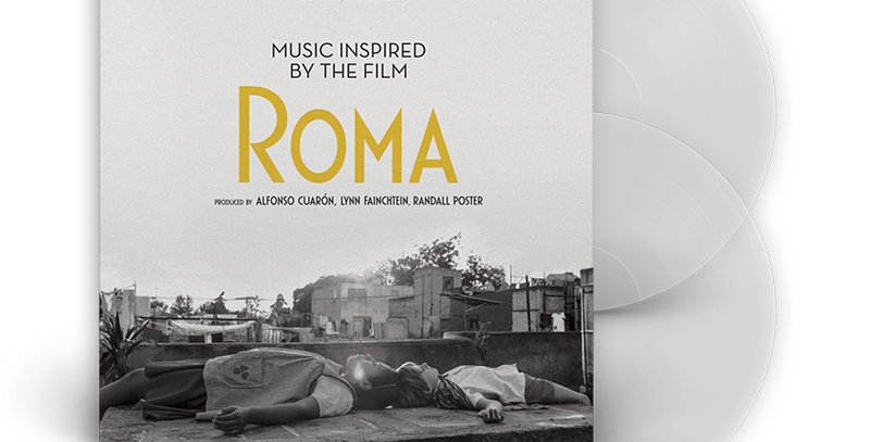 Roma (Music Inspired by the Film) - 2x LP Limitado Transparente