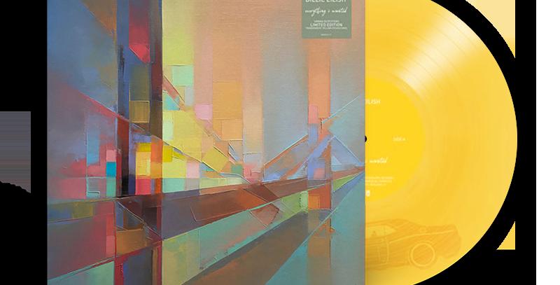 Billie Eilish - LP everything i wanted Limitado Amarelo