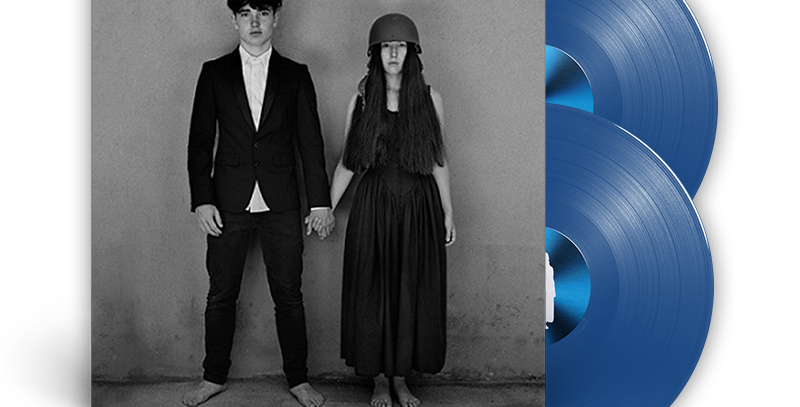 U2 ‎– 2x LP Songs Of Experience Azul Ciano