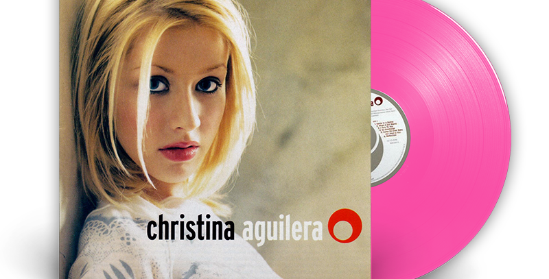 Christina Aguilera - LP Rosa Limitado Raro