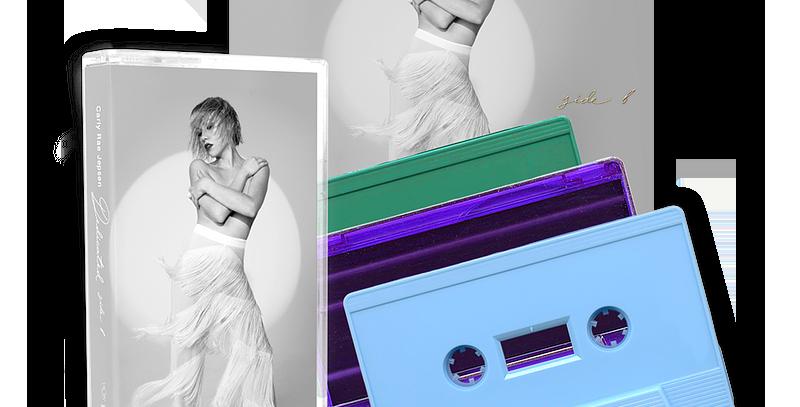 Carly Rae Jepsen - Side B Cassette Trio + Art Card Autografado