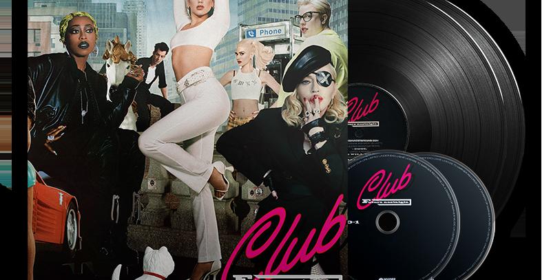 DUA LIPA - 2X LP + 2X CD CLUB FUTURE NOSTALGIA EDIÇÃO LIMITADA