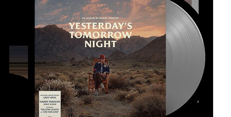 Harry Hudson – 2x LP Cinza Yesterday's Tomorrow Night [AVARIA]