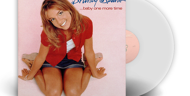 Britney Spears -  LP Baby One More Time Limitado Transparente [AVARIA]