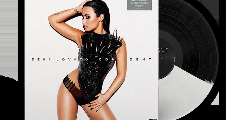 Demi Lovato - LP Confident Preto e Branco Limitado