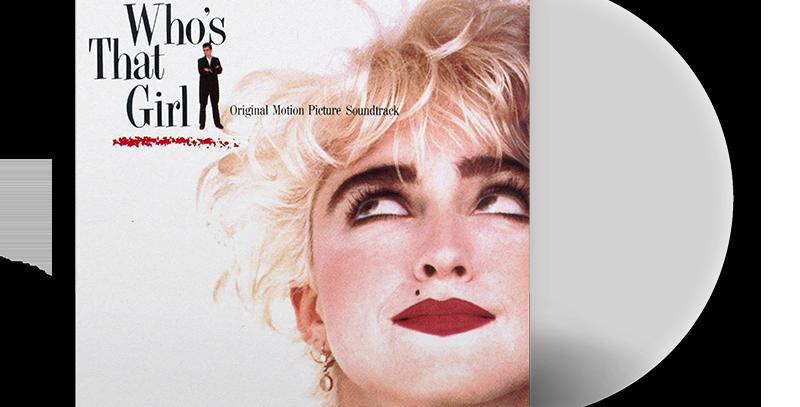 Madonna - LP Who's That Girl Transparente Limitado