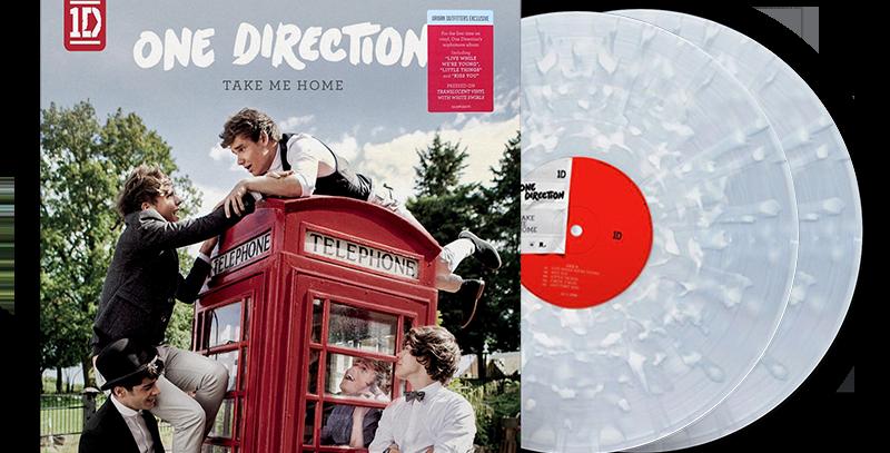 One Direction - 2x LP Take Me Home Colorido Limitado