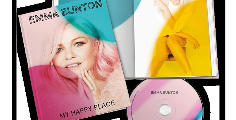 Emma Bunton - CD Livro Deluxe My Happy Place Capa Dura