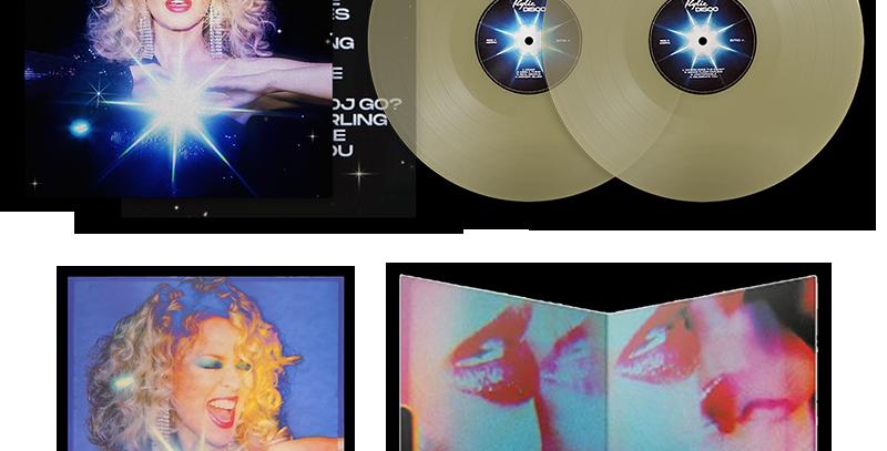 Kylie Minogue - 2x LP DISCO Deluxe Glow In The Dark (Amazon Black Friday)