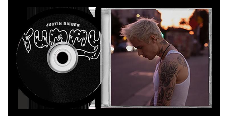 Justin Bieber - CD Autografado Yummy #2
