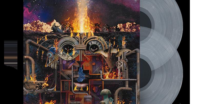 Flying Lotus - Flamagra [Amoeba Exclusivo Branco Opaco] 2x LP