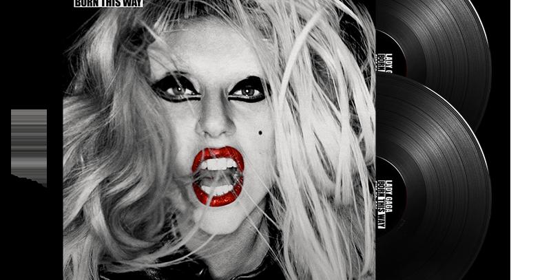 Lady Gaga - 2x LP Born This Way