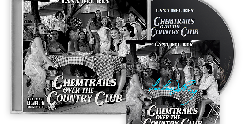 Lana Del Rey - CD Chemtrails Over the Country Club + Art Card Autografado