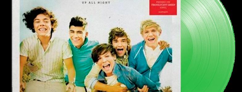 One Direction - 2x LP Up All Night Limitado Verde Translúcido