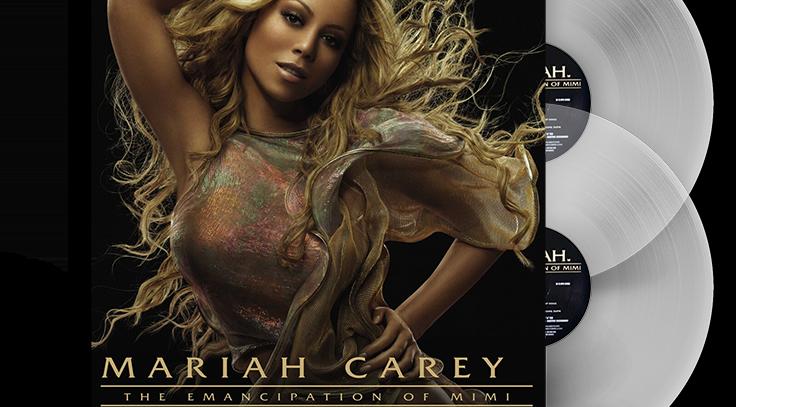 Mariah Carey - 2x LP The Emancipation Of Mimi Limitado Transparente