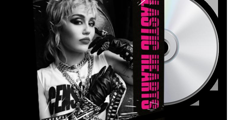 Miley Cyrus- Photo CD Plastic Hearts - Versão Black & White