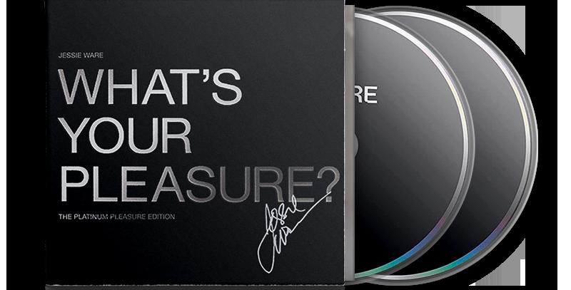 Jessie Ware - 2x CD Autografado What's Your Pleasure (The Platinum Edition)
