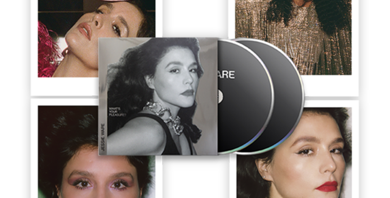 Jessie Ware - Set Autografado Polaroids + CD What's Your Pleasure Platinum