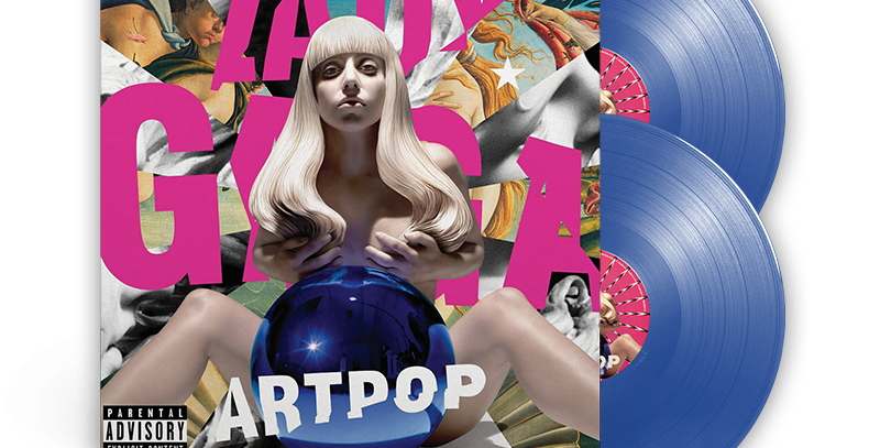 Lady Gaga - ARTPOP 2x LP Azul Limitado