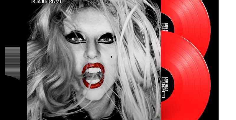Lady Gaga - 2x LP Born This Way Limitado Vermelho