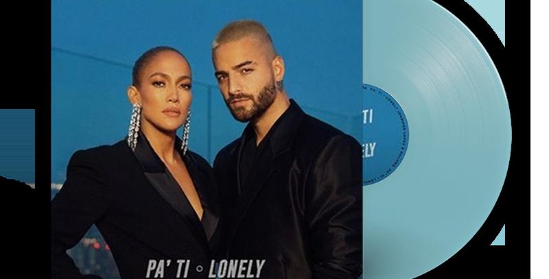 Jennifer Lopez e Maluma - LP Pa Ti / Lonely Limitado Transparente