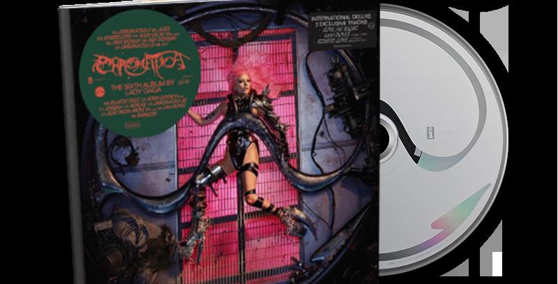 Lady Gaga - CD Deluxe Chromatica Canadense + Art Card Autografado