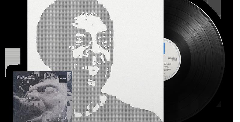 Gil Baiana - Ao Vivo!  - LP  (Capa Dupla) + Revista Noize