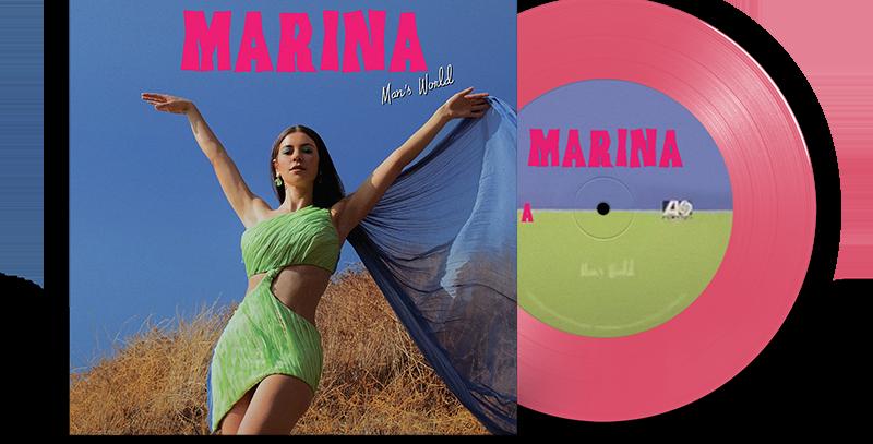 "Marina - LP 7"" Man's World Vinil Rosa Limitado"