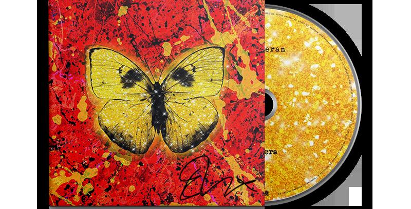 Ed Sheeran - CD Single Autografado Shivers