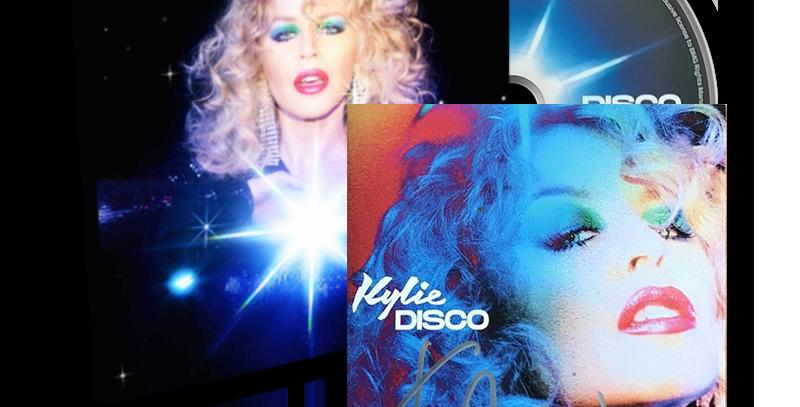 Kylie Minogue - CD Autografado DISCO