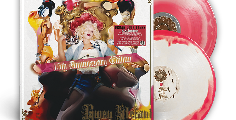 Gwen Stefani - 2x LP Love. Angel. Music. Baby. 15th Anniversary Limitado Rosa