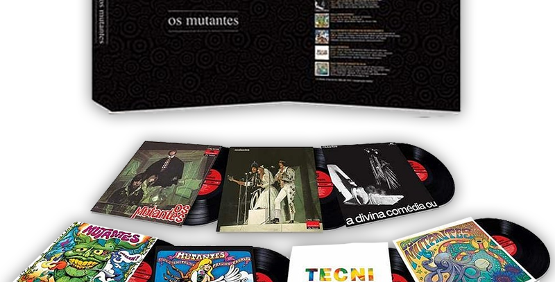 OS MUTANTES - BOX RARO 7 LPS OS MUTANTES - 33 RPM