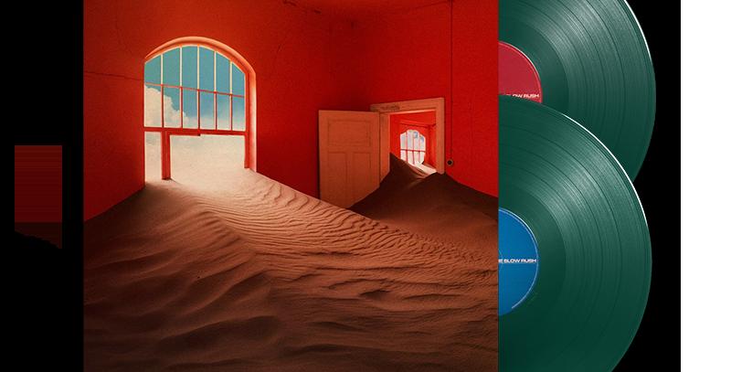 Tame Impala - The Slow Rush 2x LP Verde Escuro