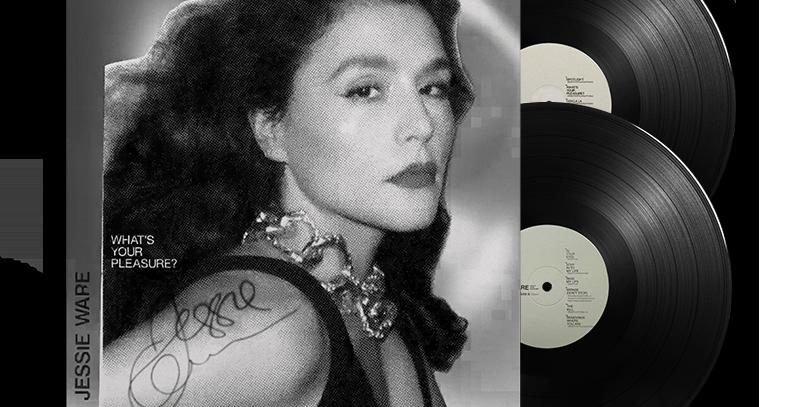 Jessie Ware - 2x LP Autografado What's Your Pleasure (The Platinum Edition)