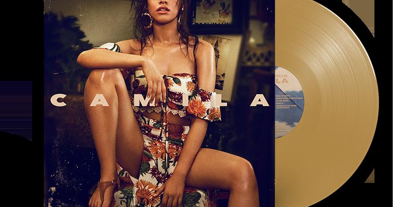 Camila Cabello LP Limitado Dourado Numerado