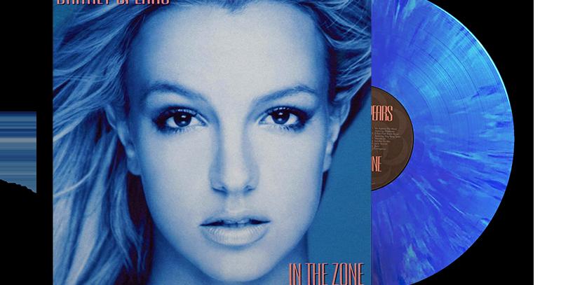 Britney Spears - LP In The Zone Azul Splatter Limitado